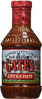Gates Extra Hot Bar-B-Q Sauce 18 oz