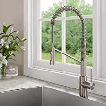 Kraus KPF-2631SFS Oletto Kitchen Faucet, 21.75 inch, Pull Down Stainless Steel