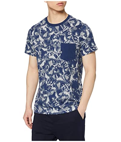 G-Star Thistle All Over Pocket T-Shirt (Milk/Silver) Men