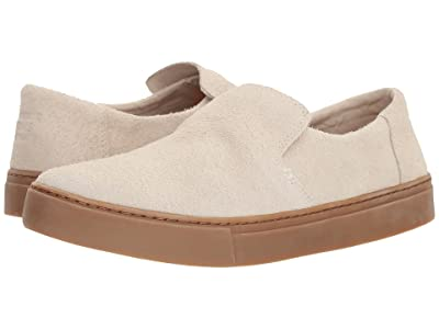 TOMS Lomas Slip-On (Birch Shaggy Suede/Gum) Men