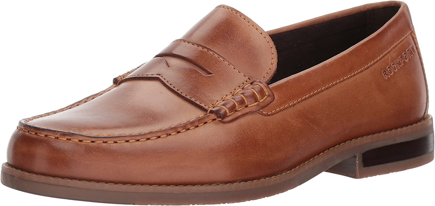 Rockport Men's Curtys Penny Penny Loafers