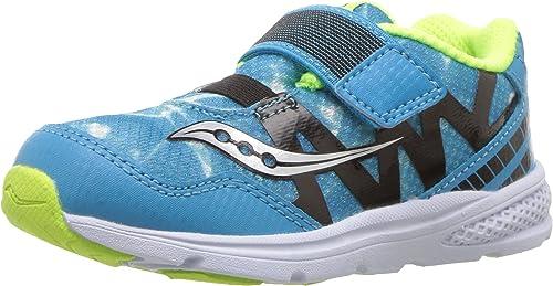 Saucony Enfants' Baby Ride Pro FonctionneHommest-chaussures,Ocean Wave bleu,6 Wide US Toddler
