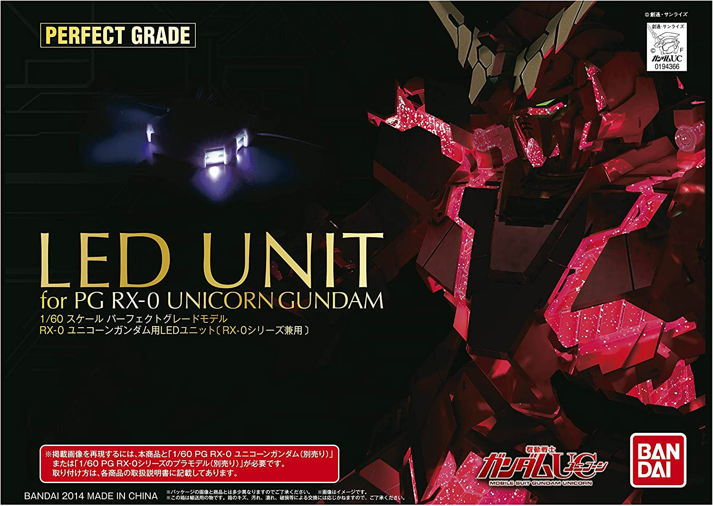 PG 1 60 RX-0 Unicorn Gundam LED-Einheit (Mobile Suit Gundam UC) B00O3RUERU Genial  | Verschiedene aktuelle Designs