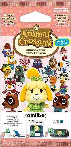 Paquet de 3 cartes : Animal Crossing - série 4 (1 spéciale + 2 standard)