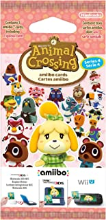 Nintendo - Pack 3 Tarjetas amiibo Animal Crossing HHD - SERIE 4