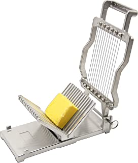 Huanyu Commercial Cheese Slicer 1cm&2cm Cheeser Butter Cutting Board Machine Wire Making Dessert Blade Durable Stainless Steel
