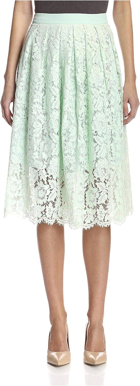 Aijek Women's Lace Midi Skirt