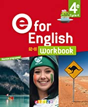 E for English 4e (éd. 2017) - Workbook -version papier