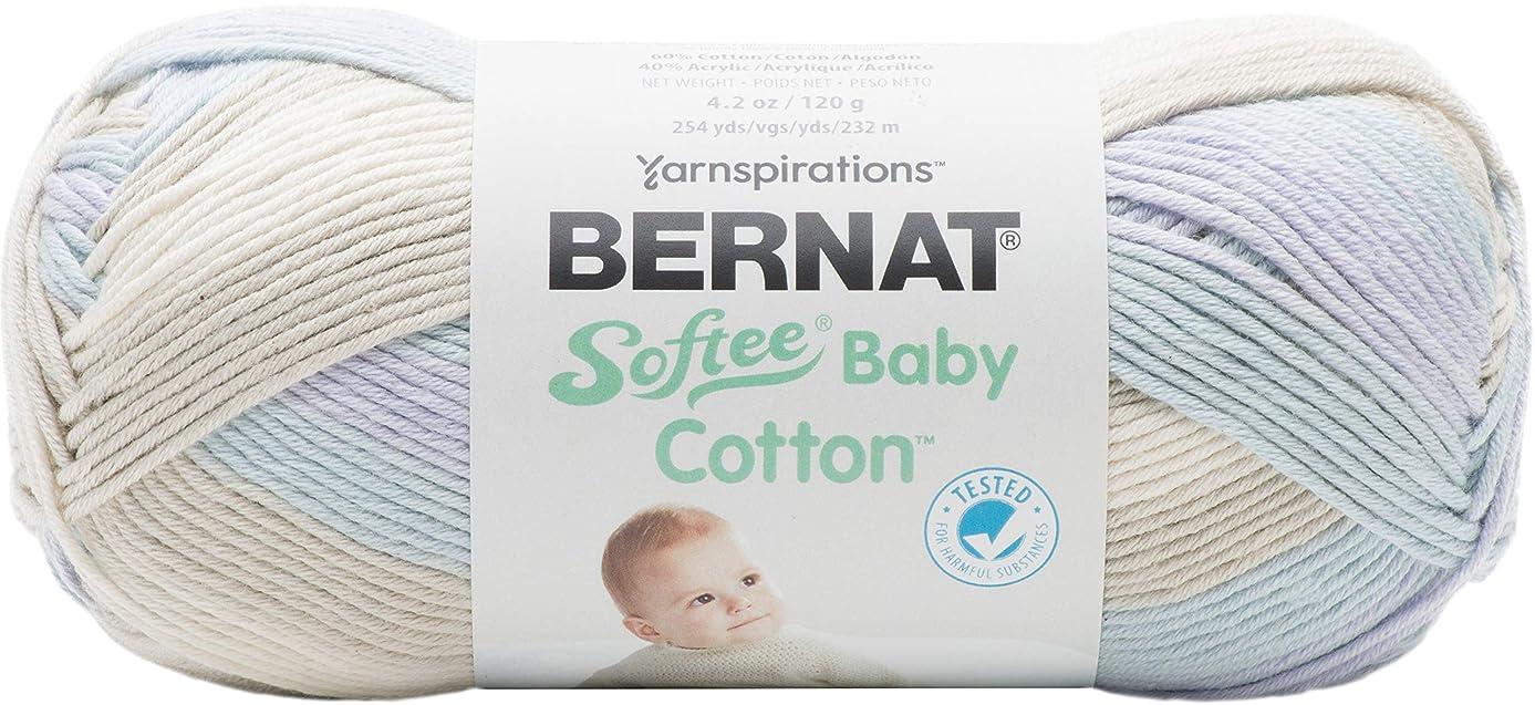 Bernat 16605252018 Softee Baby Cotton Yarn, Rainstorm Varg