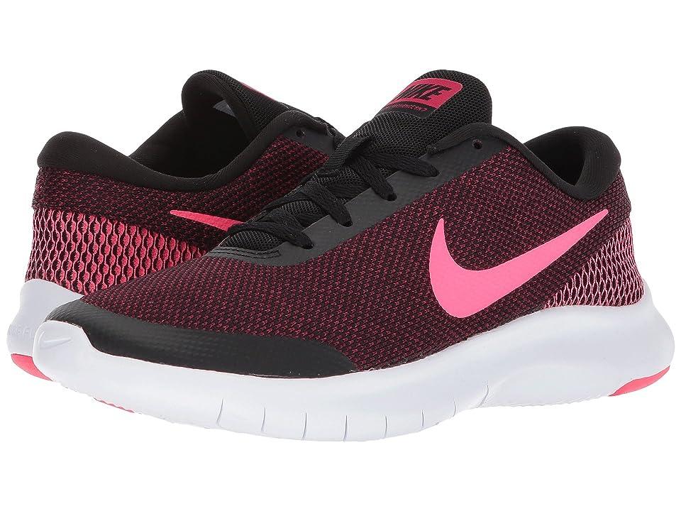 Nike Flex Experience RN 7 (Black/Racer Pink/Wild Cherry/White) Women