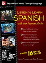 Listen 'n' Learn Spanish with Your Favorite Movies (English Edition)
