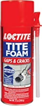 Loctite TITE FOAM Insulating Foam Sealant, Gaps & Cracks, 12-Ounce Can (Packaging may vary)