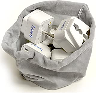 Ceptic Internacional En todo el mundo adaptador de viaje enchufe Set - funciona con teléfonos celulares, cargadores, bater...