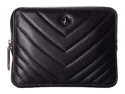Kate Spade New York Amelia Small Camera Belt Bag (Black) Handbags