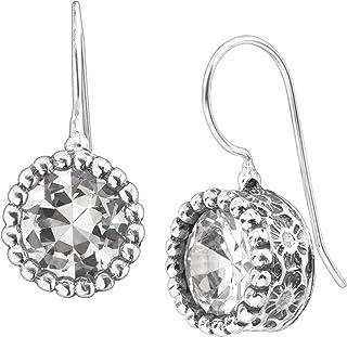 b1eda27e2 Silpada 'Bristol' 8 ct Cubic Zirconia Drop Earrings in Sterling Silver