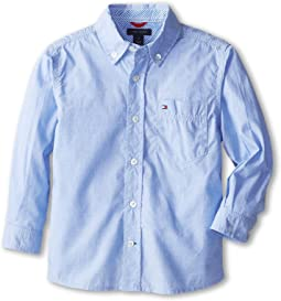 Tommy Hilfiger Kids Vineyard End On End Shirt (Toddler/Little Kids)
