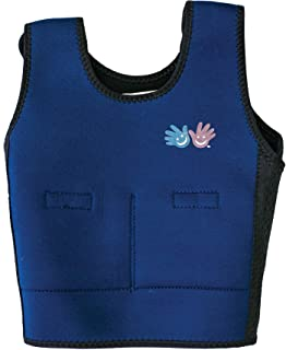 Weighted Compression Vest in Blue Size: Large