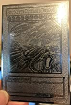USA seller English Yugioh Blue-Eyes Ultimate Dragon Custom Silver Metal Cards