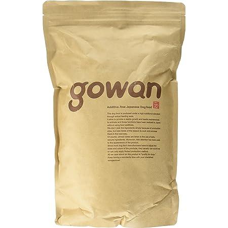 ドッグフード 無添加 国産 GOWAN ごわん 小粒 1kg 全犬種用