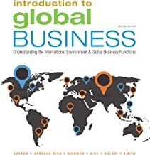 Introduction to Global Business: Understanding the International Environment & Global Business Functions