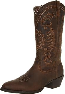 حذاء نسائي من Ariat عليه صورة المغنولية الغربي