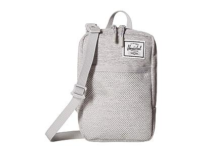 Herschel Supply Co. Sinclair Large (Light Grey Crosshatch) Cross Body Handbags