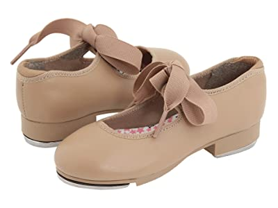 Capezio Kids Jr. Tyette N625C (Toddler/Little Kid) (Caramel) Girls Shoes