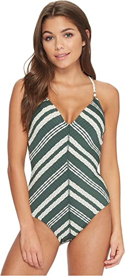 Robin Piccone - Livvy V-Neck One-Piece
