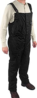 WindRider Pro Foul Weather Gear - Fishing Bibs/Sailing Bibs - 6 Pockets w/Hand Warming Chest Pockets - Waterproof, Windproof & Breathable - Reinforced Seat, Knees - High Chest