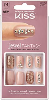 KISS Jewel Fantasy Nails Medium Length KJF01