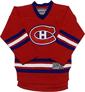 nhl 100 canadiens jersey