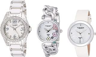 Akribos Xxiv Women's Casual Watch 3 Piece Set - Ak887Ss, Analog Display