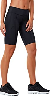 Women's Mid-Rise Athletic Compression Shorts