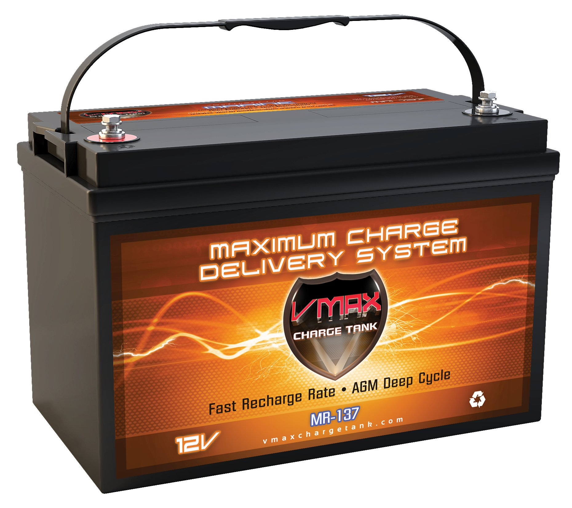 Vmaxtanks Battery powerboat trolling MR137 120
