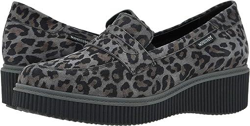 Dark Grey Leopardo