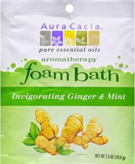 Aura Cacia Foam Bath, Tangerine/Grapefruit, 2.5 Ounce