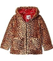 Bulky Pile Faux Fur Jacket (Little Kids/Big Kids)