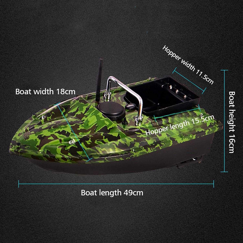 FUMENG Intelligent Fishing Bait Boat,500M High Speed Radio Fishing Lure Bait Nesting Boat 1.5KG Loading Fish Finder,12000mAh,camouflage