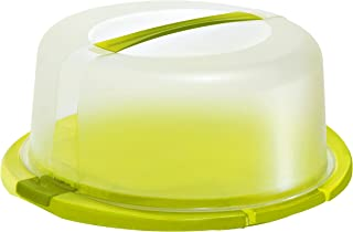 Rotho 1720105070 Caja pastelera Verde, Blanco - Cajas