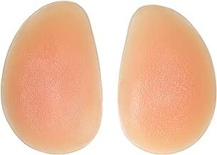 Sodacoda Women's 300g/pair – Drop Shape Silicone Pads – for Bum Butt Push Up Beige