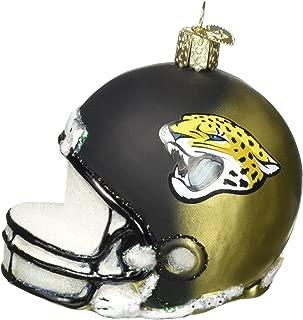 Old World Christmas Ornament Jacksonville Jaguars Helmet