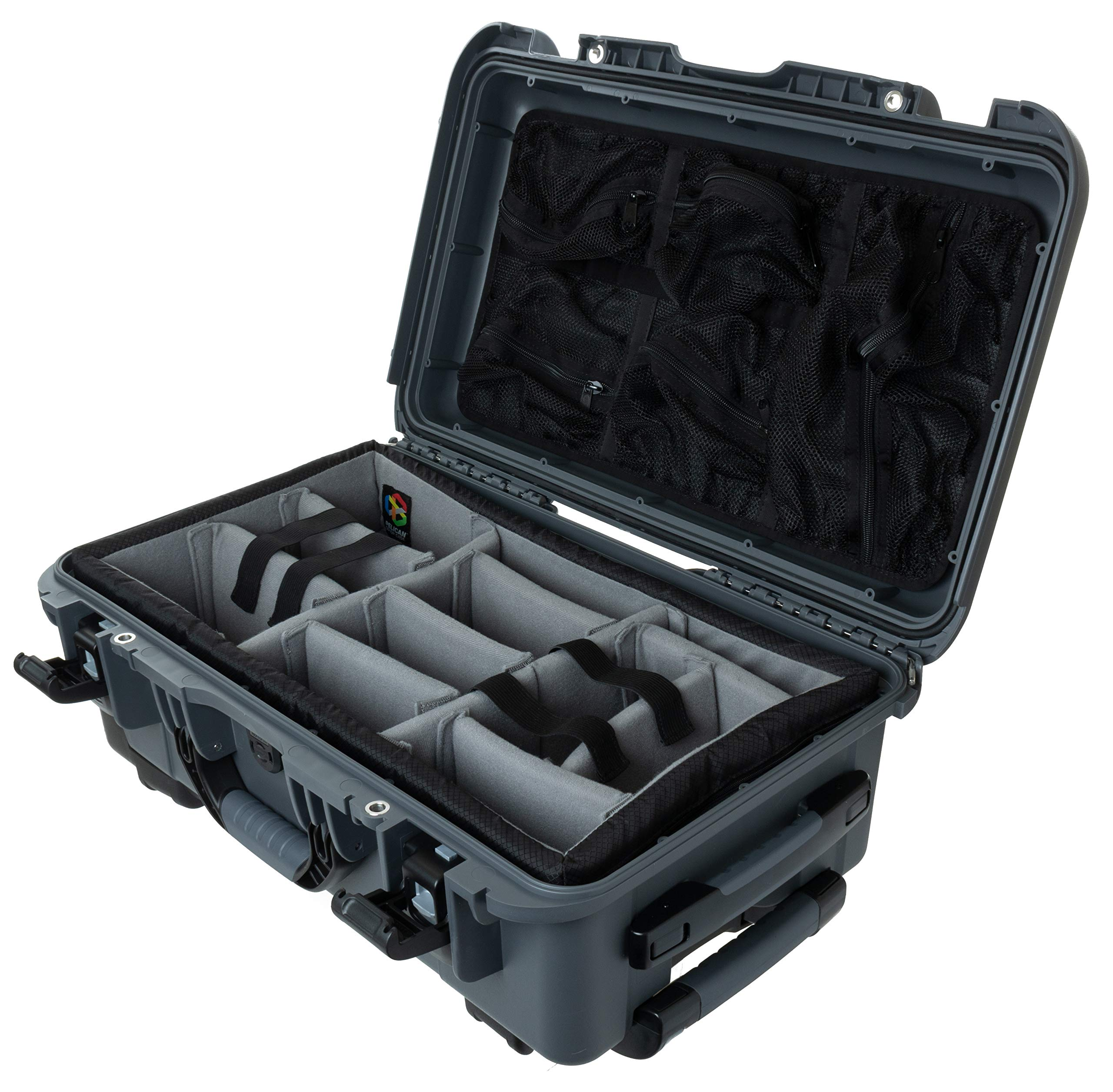 Graphite Nanuk 935 Waterproof Carry-On Hard Case with Wheels Empty Renewed