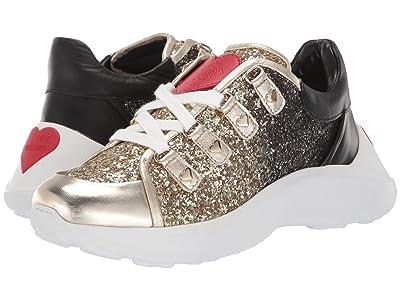 LOVE Moschino Super Heart Sneaker (Fantasy Color Platinum) Women