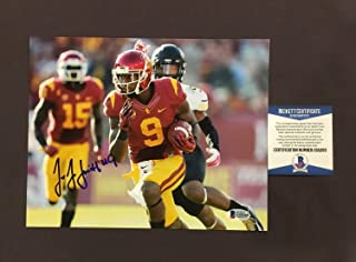 78210ffa2a1 Beckett Coa Juju Smith Schuster Autographed Signed Memorabilia 8x10 Photo  Usc Steelers