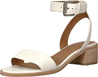 f22efaa9a048 Amazon.com  White - Heeled Sandals   Sandals  Clothing