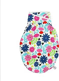 Ergobaby 襁褓包裹,睡袋带臀部定位器和臂袋,不同颜色 French Bull - Flores 3 Months