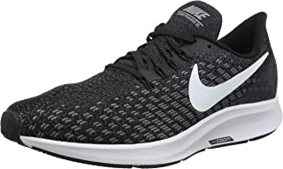 Nike Australia Men's Air Zoom Pegasus 35 Running Shoes, Black/White-Gunsmoke-Oil Grey