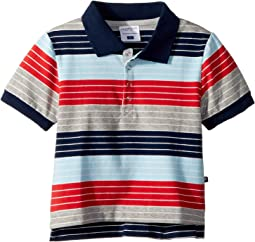 Toobydoo Stars and Stripes Polo (Infant/Toddler/Little Kids/Big Kids)
