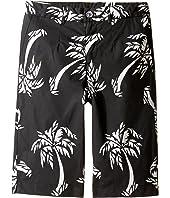 Dolce & Gabbana Kids - Palm Leaf Bermuda (Big Kids)