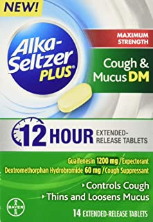 Alka Seltzer Plus Max Strength Cough and Mucus, 14 Count